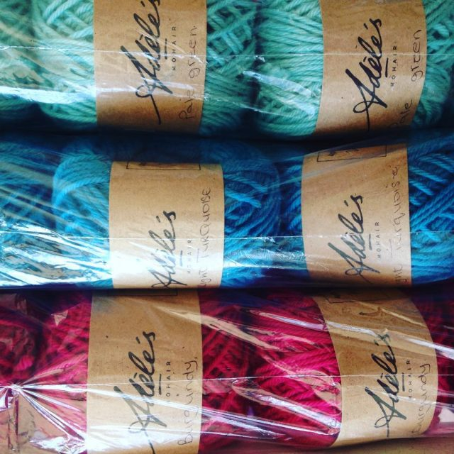 Pretty colours for the knitandbreathe getaway day on Tuesday justhellip
