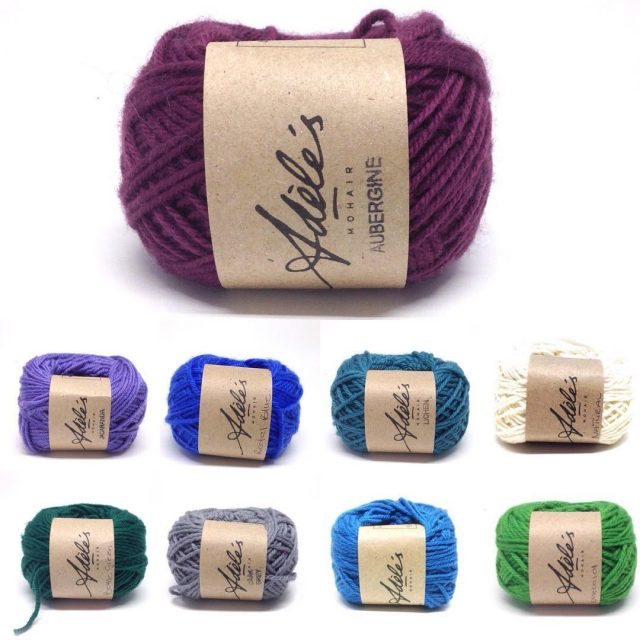 adelesmohair purewool4ply dk the new yarn labels!!