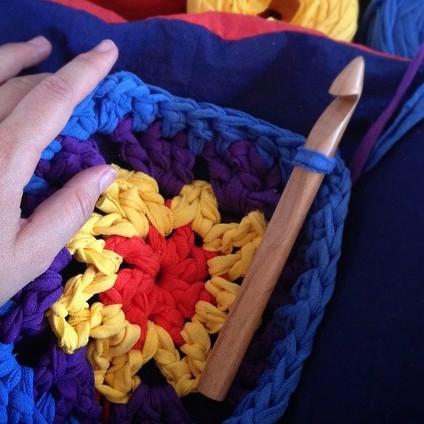 Chiaogoo Jumbo Crochet Hooks Natural Yarns