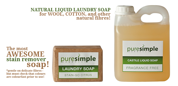 Pure Simple - Natural Laundy products