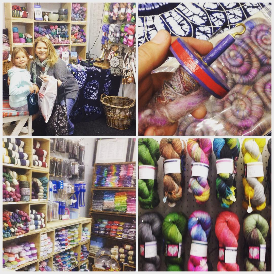 From the first lovely customers to the drop spindle spinninghellip