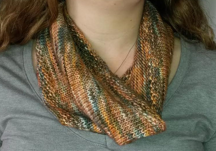 Knitting Cowls In The Round : Knit your own snood cowl in the round natural yarns