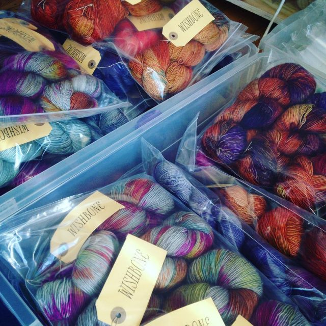 Just in wishboneyarn wishboneyarn handdyedyarn