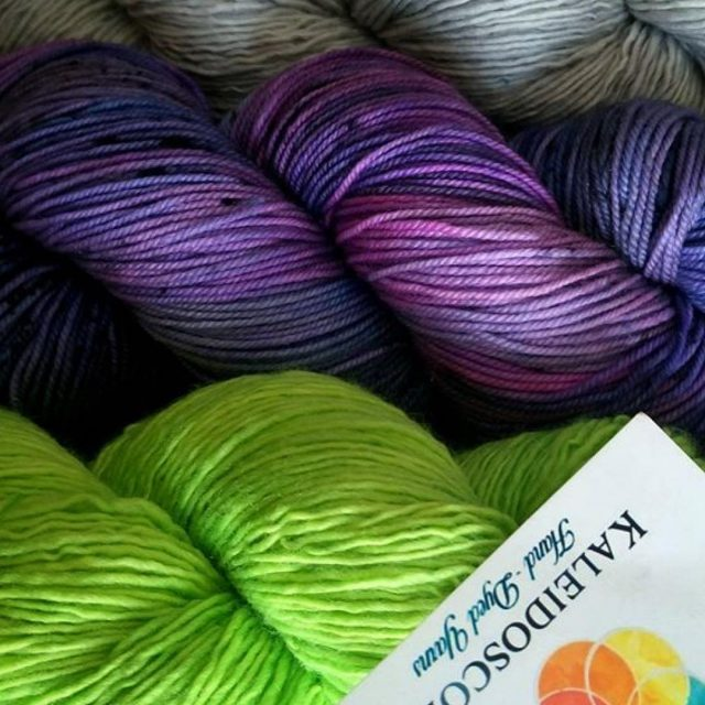 In and Coming soon!!!  Repost kaleidoscopeyarns  These threehellip