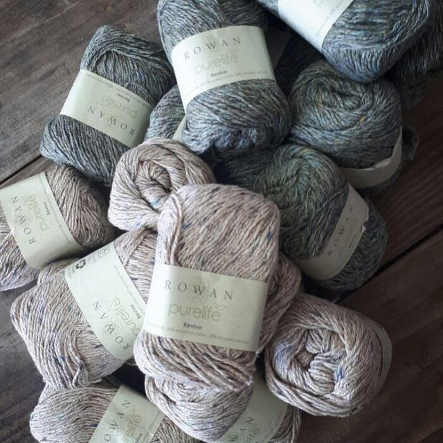 rowanpurelife recycled silk cotton and viscose  a lovely summeryarnhellip