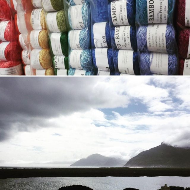 nurturingfibres ecobamboo rainbow for a rainy capetown day yesterday! proudlysouthafricanhellip