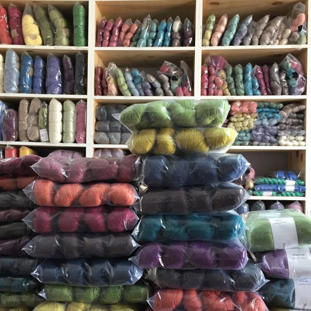 studioview Unpacking the new nurturingfibres colourways happydance proudlysouthafricanyarns naturalyarnssa