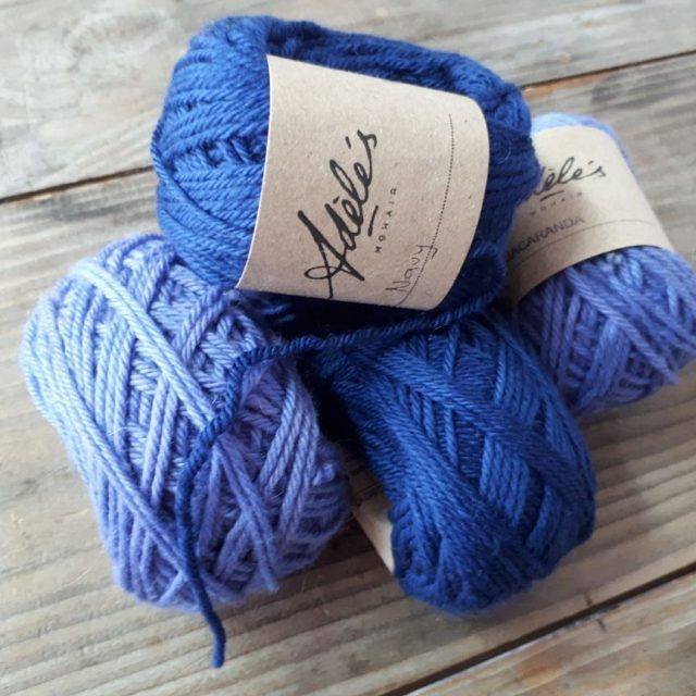 Get all relaxed with blues from Adeles Mohair this weekendhellip