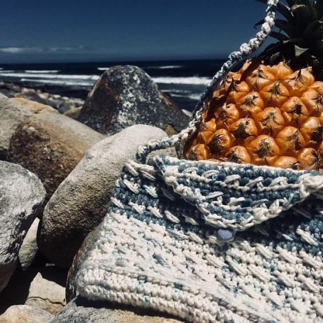 How beautiful is this bag created by seasunsurf with nurturingfibreshellip