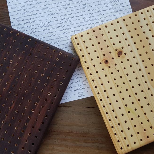 Wooden Crochet Blocking Boards Natural Yarns