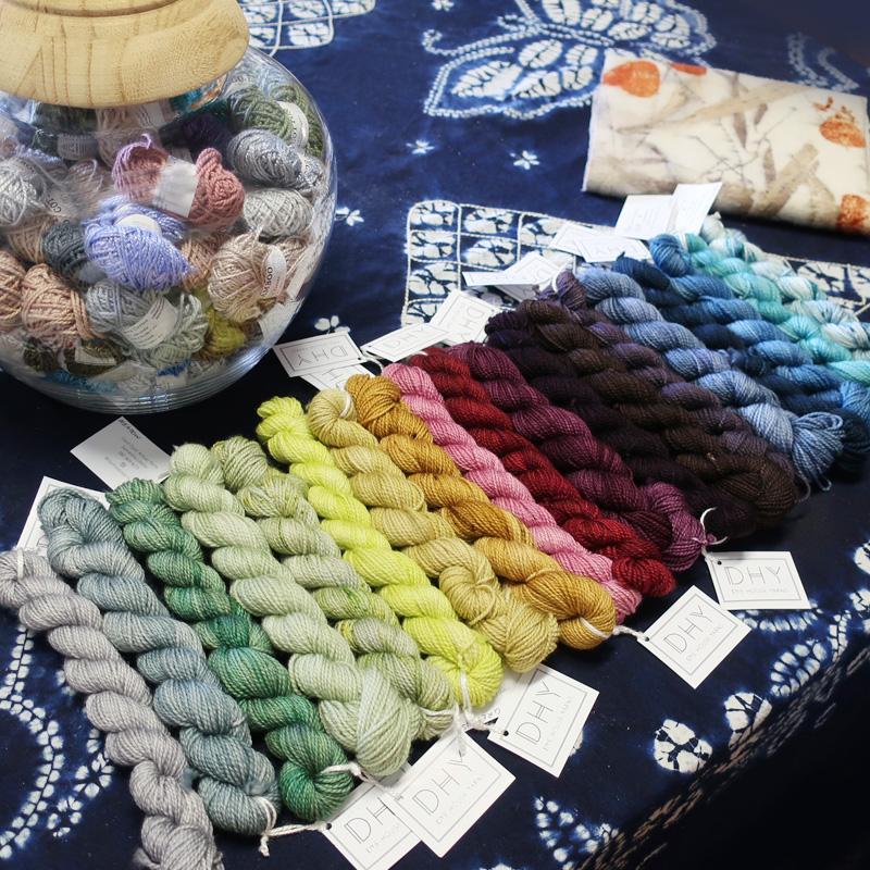 Dhy 25g Mini Skeins Sock Natural Yarns